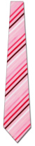 2015022020: Uomo Venetto Woven Gradient Pink Stripes