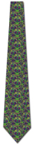 501338: Sugar Skull Collage - Lime Green