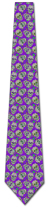 501358: Sugar Skull Repeat - Purple
