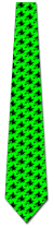 501388: Witch Silhouette Repeat - Neon Green