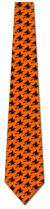 501390: Witch Silhouette Repeat - Orange