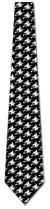 501392: Witch Silhouette Repeat - White on Black