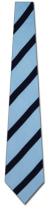 EW-8206: Light Blue and Navy Stripes