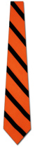 EW-8476: Orange and Black Stripes