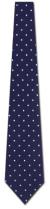 JA-20011703: Jacob Alexander - Navy Polka Dots (XL)