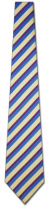 KA-9000002: Fancy Woven - Navy, Yellow and Purple Stripe