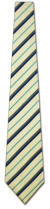 KA-9000008: Fancy Woven - Yellow, Navy and Teal Stripe