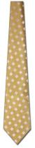 KA-9000016: Woven Silk-Gold with White Diamonds