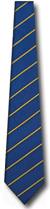 K116-50: Blue with Yellow Stripe